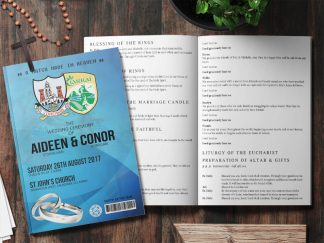 GAA Wedding Mass Booklet