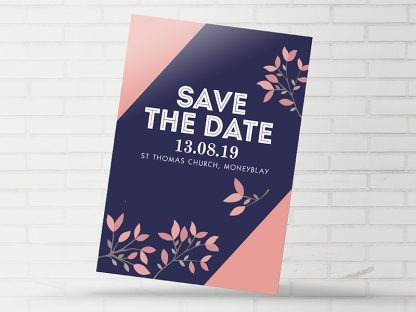 Moneyblay Modern Save The Date