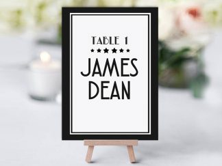 BlackDeco Table Name