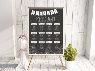 BlackBoard Table Plan