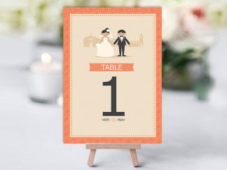 Classsic Coral Couple Table Name