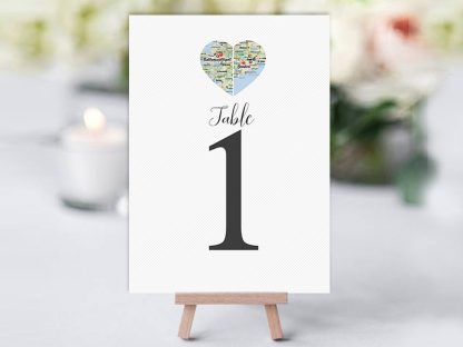 Country Hearts Table Name