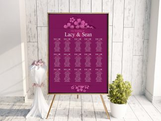 Ballymornay Purple Table Plan