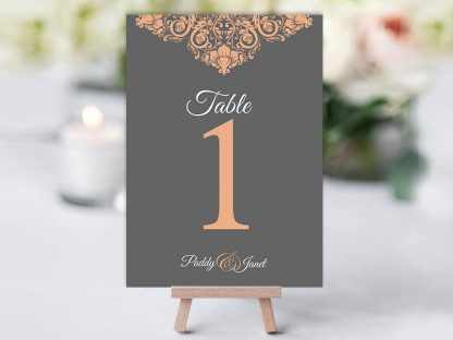 Sam PeachGrey Table Name