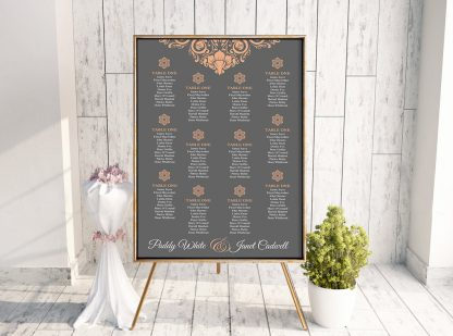 Sam PeachGrey Table Plan