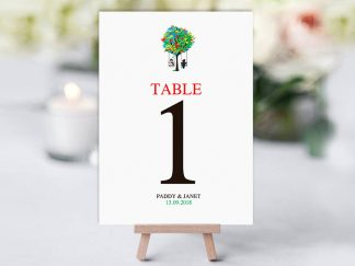 Spicer Tree Table Name