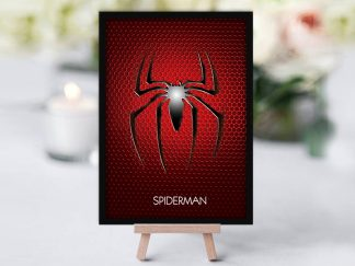 Spiderman Table Name