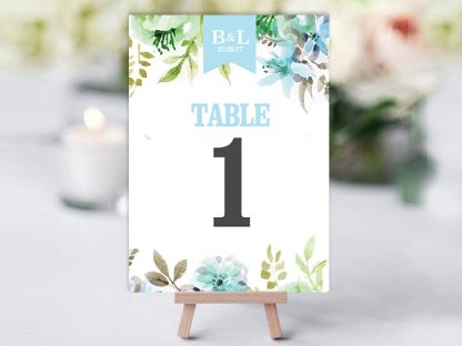 WaterFloral Table Name