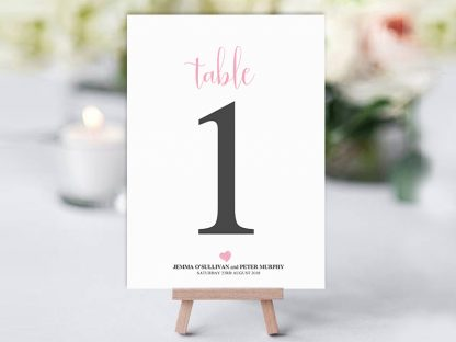 We Do Heart Table Name