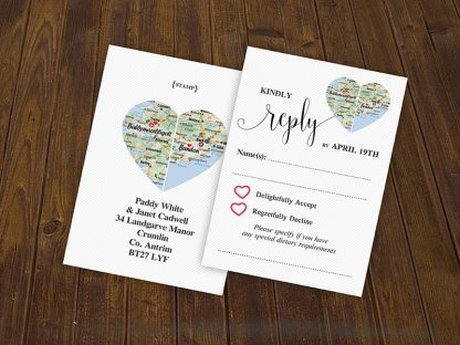 CountyHeart Wedding RSVP