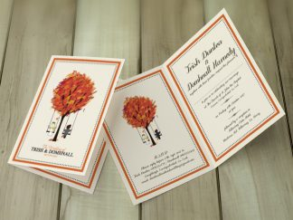 Dunlea CreOra Wedding Invites