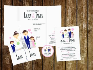 Family Wedding Invitation