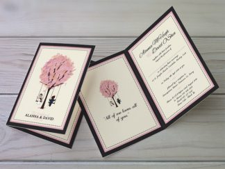 McHugh Tree Wedding Invitation