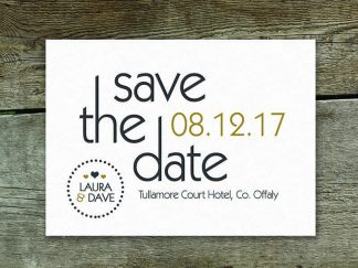 Bracken Modern Save The Date