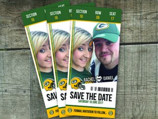 Packer Ticket Save The Date