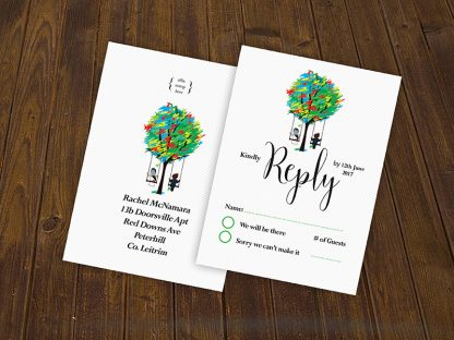 Spicer Tree Wedding RSVP