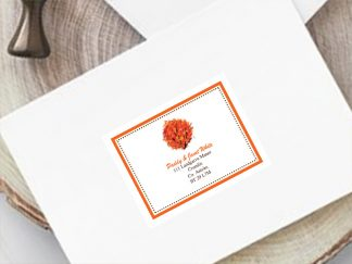 Wedding Guest Address Label