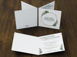 Daisy Spring Wedding Invites