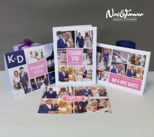 A selection of thank you cards