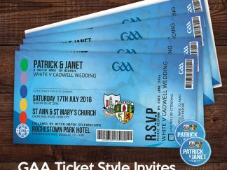 GAA Ticket Invitation