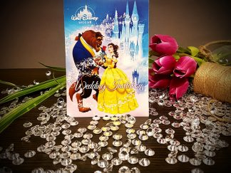 Beauty & The Beast Wedding Invitation