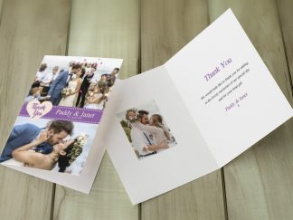 Buckley Wedding Thank You Card