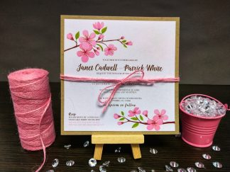 Cherry Blossom Pink Twine