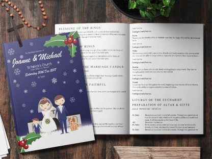 Xmas Wedding Mass Booklet