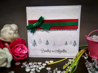 Winter Wonderland Wedding Invite